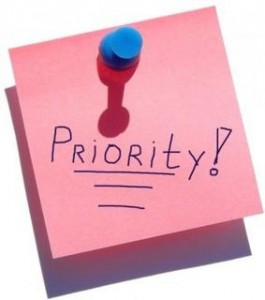 prioritizing your time and efforts